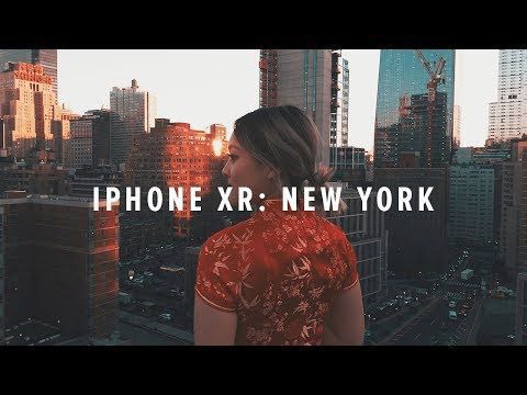 Hero frame for the iPhone XR: New York video on YouTube.